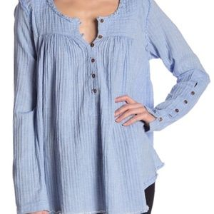 FREE PEOPLE SAND DUNE TUNIC TOP NWT SIZE M